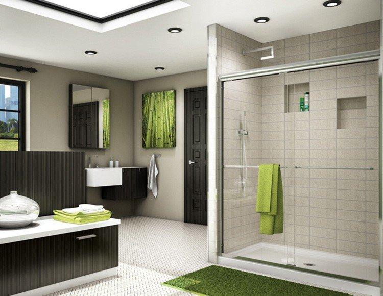 Douches r novation de cuisine et de salle de bain laval for Accessoire salle de bain laval