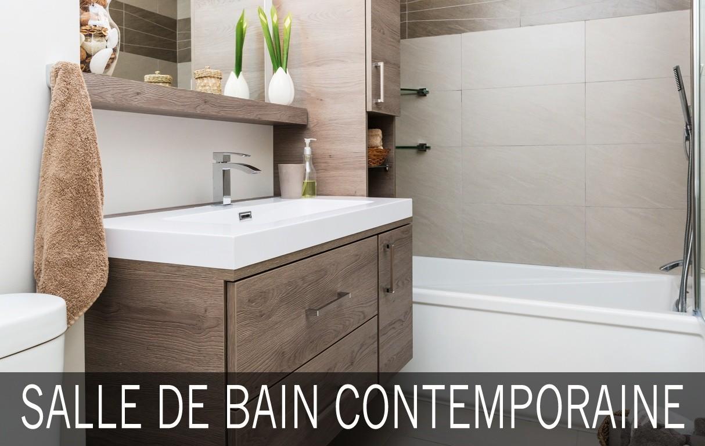 salle de bain contemporaine avec lavabo spacieux. Black Bedroom Furniture Sets. Home Design Ideas