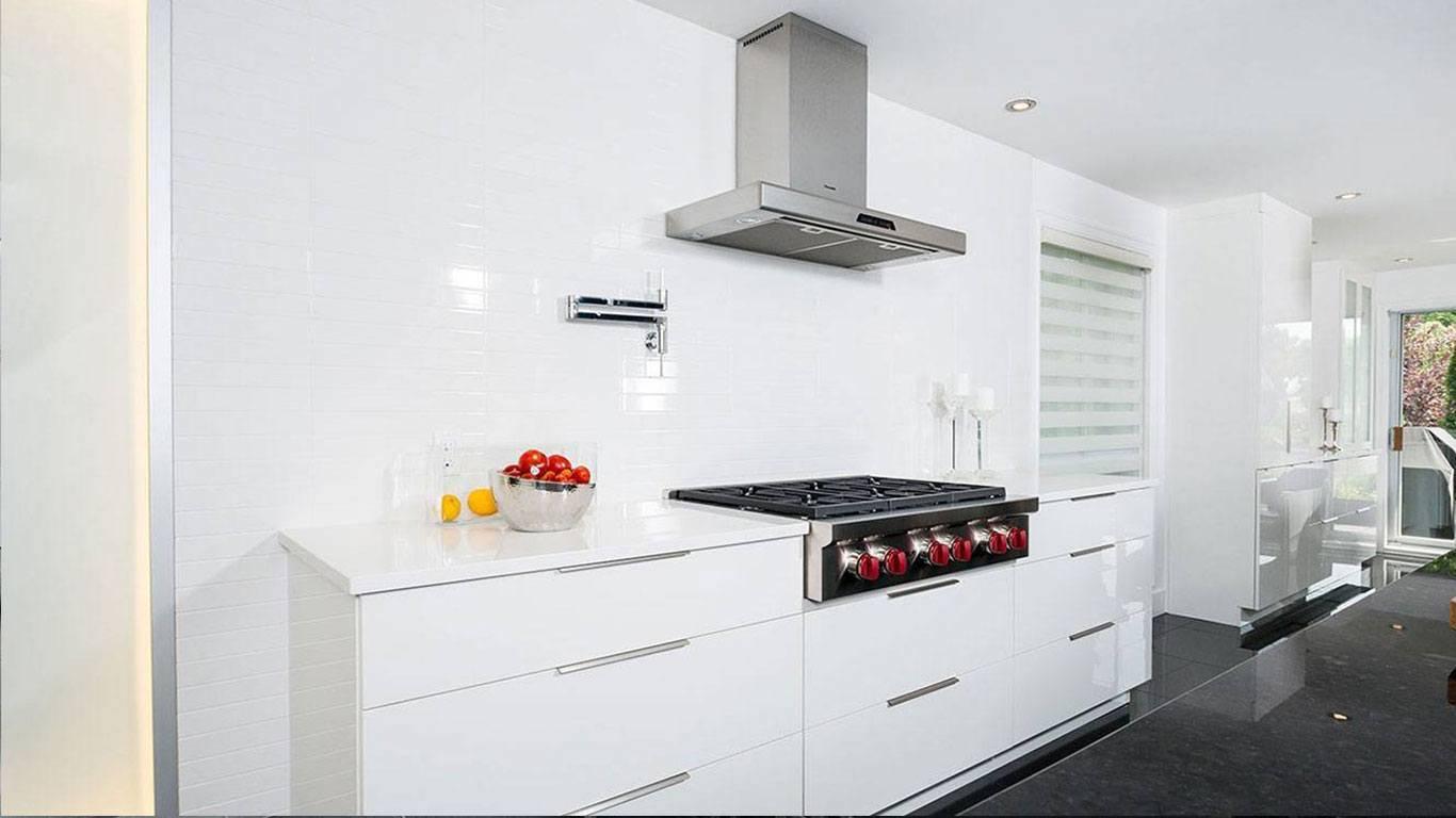Espace de cuisson avec tiroir pour chaudron